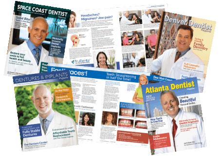 Gilleard Dental Focus Marketing Magazines