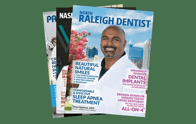 Custom dental magazines