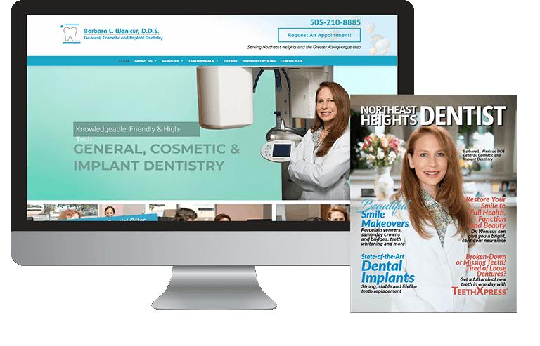 Dental magazine and website