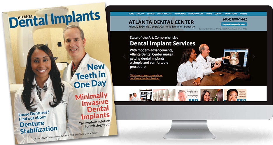 Dental implant magazine and website