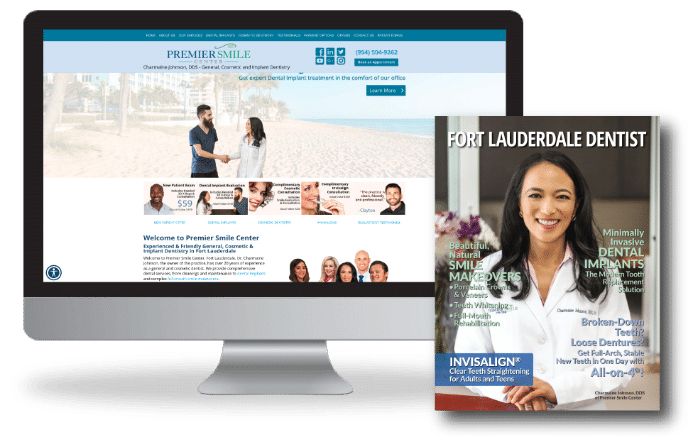 Dental magazine and website