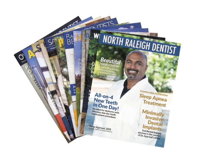 Direct mail dental magazines