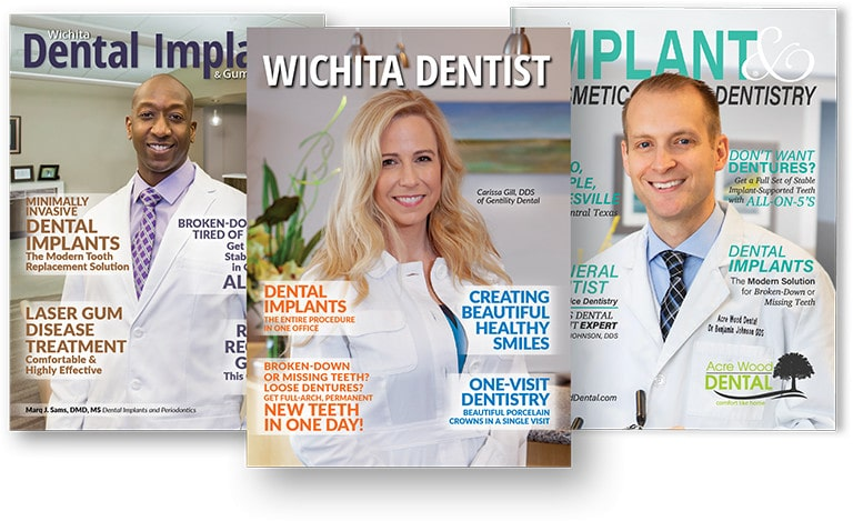 custom dental implant marketing magazine
