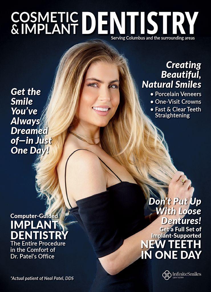 Cosmetic dentist marketing magazine