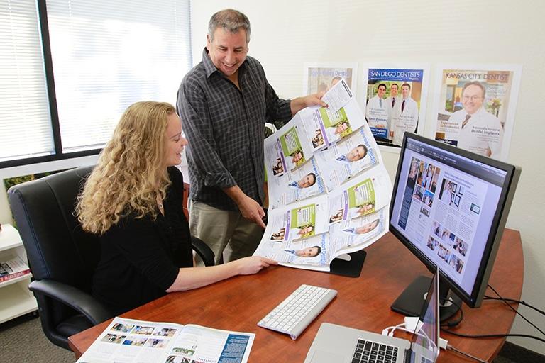 Designing our custom magazines